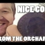 Nice coin from the Orchard:  Metal detecting UK # 109