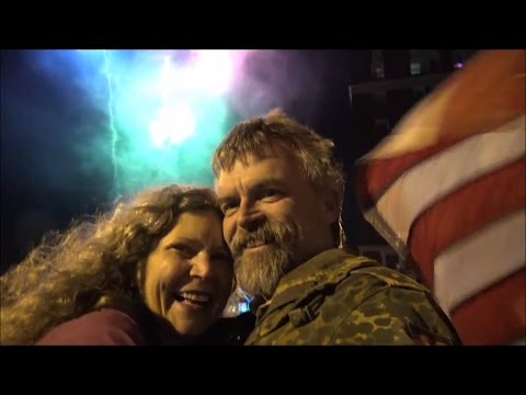 Hagerstown Maryland: 2016 New Years Eve Donut Drop