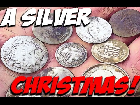 A Silver Christmas Hunt!:  Metal detecting UK # 110