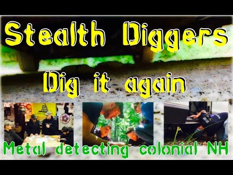 #163 Dig it again – Camera hole recap metal detecting NH cellar holes Garrett ATGOL XP Deus