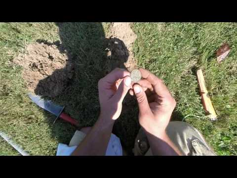Metal Detecting Finds – an AMAZING old house built in 1917 in Ohio with my MINELAB CTX 3030.