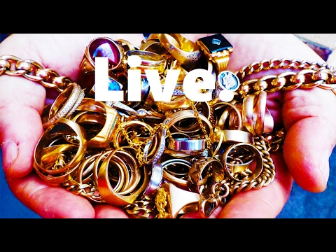 TEN GREAT GOLD FINDS CAPTURED ON CAMERA (10  to 1 live Gold Nuggets, Jewelry, Rings & Surprises)