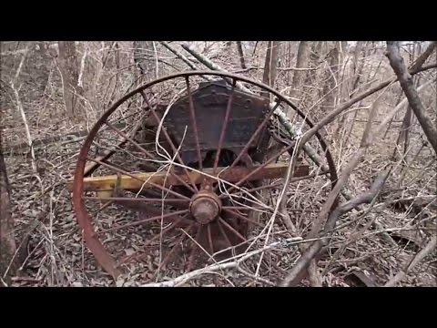 Exploring Old Abandoned Farm Equipment