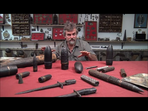 My World War Two Relic Collection: Metal Detecting