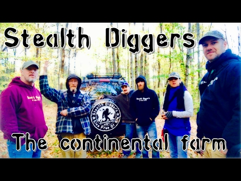#174 The Continental farm – Metal detecting a NH farm abandoned since the great depression
