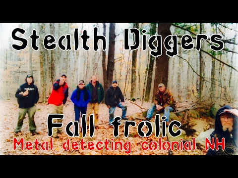 #175 Fall frolic – Metal Detecting Colonial NH Cellar holes Garrett ATGOLD ATPRO XP Deus