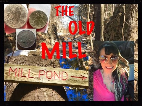 Metal detecting the abandoned mill site!  Coins & relics! MX Sport, MXT