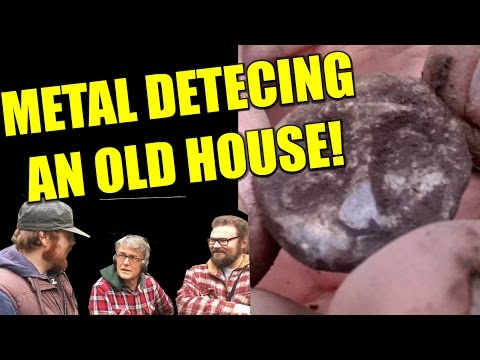 Metal Detecting a VERY old house!: Metal Detecting UK # 113