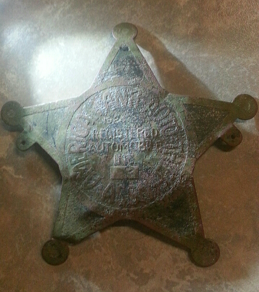 The Anti-Automobile Thief Association of America Badge Found Metal Detecting