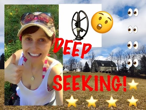 Metal detecting: A big coil makes old sites new again!  Coins & jewelry!