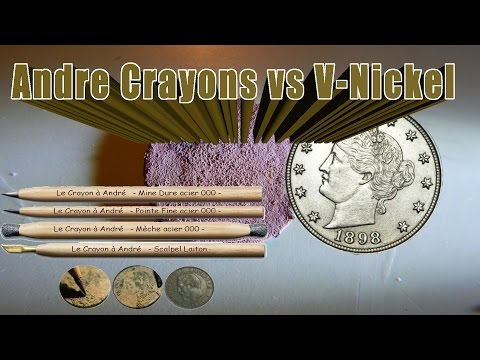 Ozark Seekers #39 –  Andre Crayons & cleaning V-nickel – Metal detecting