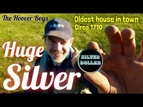 Best day I've ever seen treasure hunting #122 Huge Silver