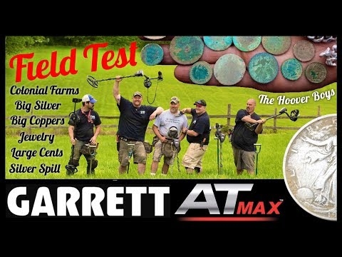 Garrett AT Max Finds Coins!! Big Silver, Silver Spill, Big Coppers, Relics, Jewelry, & More