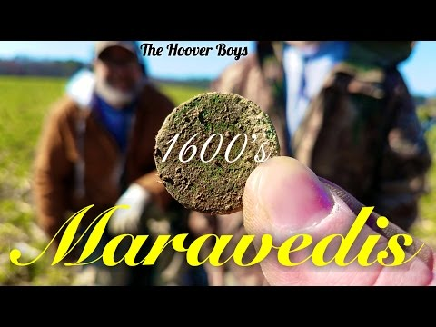 1600's Metal Detecting in the USA  #120 Maravedis