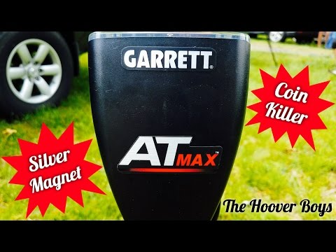Garrett AT Max | Silver Magnet | Coin Killer