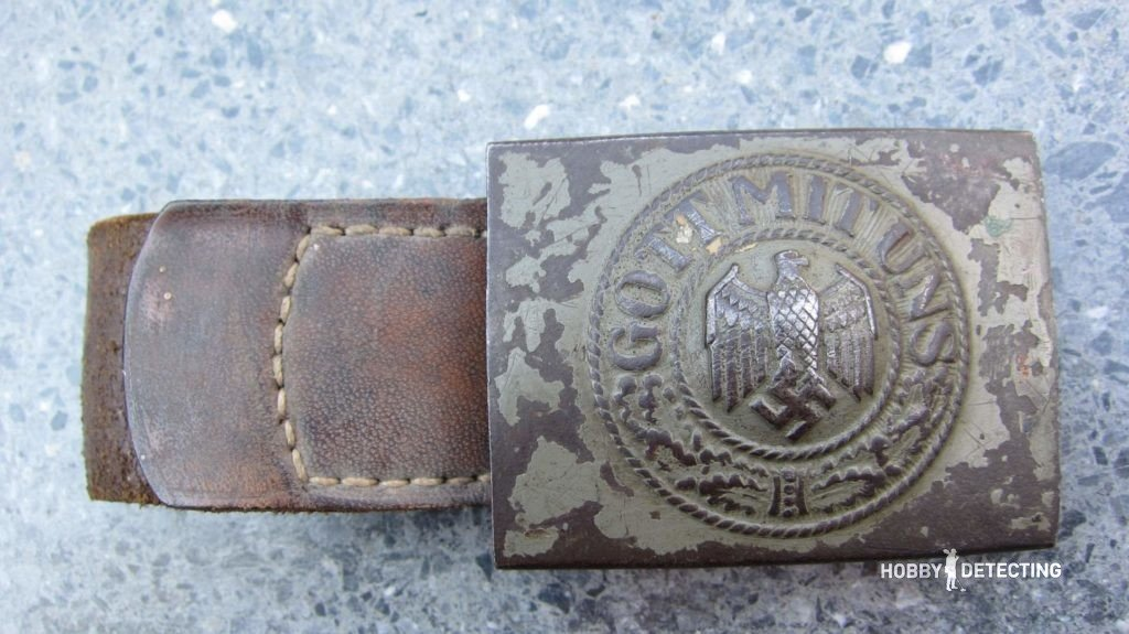 Wehrmacht WW2 Belt Buckles (Description, Variants, Identifying Finds +)