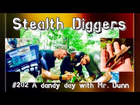 #202 A dandy day with Mr  Dunn – Metal detecting at 1700's  colonial NH sites