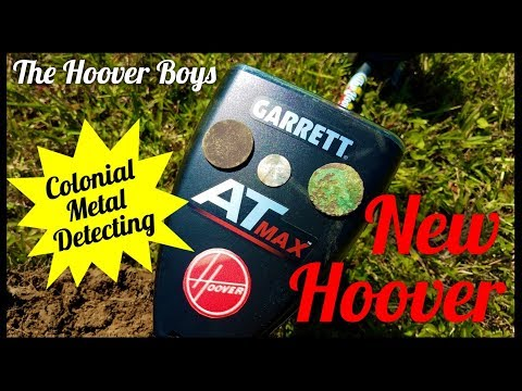 Colonial Metal Detecting Garrett AT Max Coins & Relics