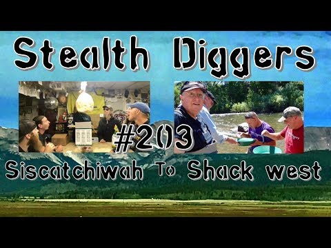 #203 Siscatchiwah to shack west – Metal detecting NH & a visit to Golden Co.