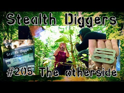 #205 The other side – Metal detecting NH Colonial cellar holes – coins relics exploring history