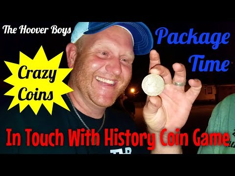 In Touch With History Coin game – Package Time!!