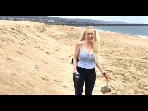 Southern California 🌴 Beach Metal Detecting