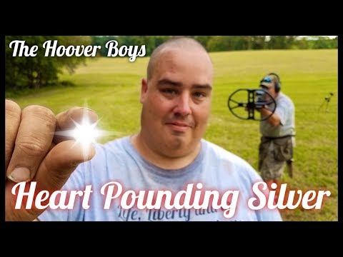 You won't believe the silver coins these guys find metal detecting