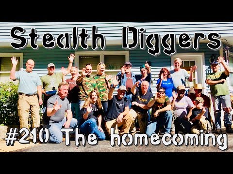 #210 The homecoming – NH metal detecting group gathering dig party field hunt