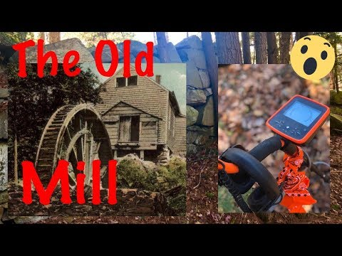 Metal detecting the old mill foundation with MX7! Coins and jewelry!