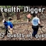 Guests of guests -#212 Cellar hole metal detecting NH with friends & family
