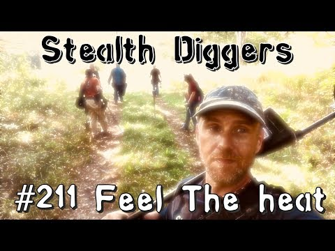 #211 Feel the heat – Metal detecting NH cellar hole & finding all kinds of relics