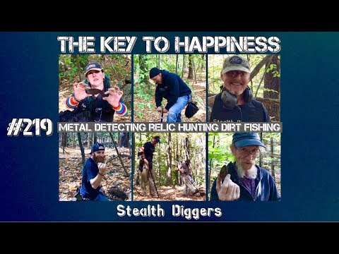 The key to happiness #219 Metal detecting with friends