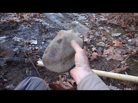 Metal Detecting: Indian Stone Artifacts And An Indian Head