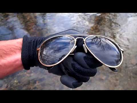 River Hunting In December: Found Huge School Of Fish!