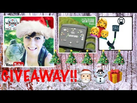 Metal detecting: Free Xventure metal detector giveaway!  Ends Dec 18th