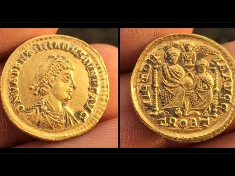 THROWBACK MY BEST HUNT OF 2017 ROMAN GOLD Metal detecting uk