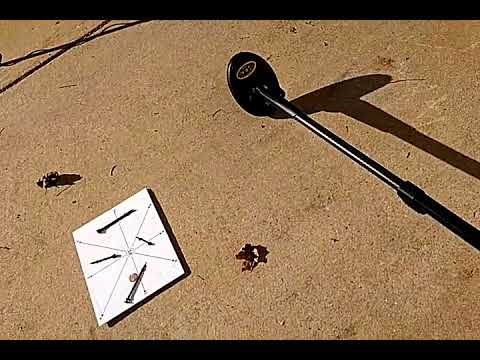 Showing Minelab FBS tones in conduct wide open screen no disc