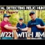 With Jim #221 Metal detecting NH Cellar holes our friend visits Garrett ATGOLD ATPRO XP DEUS
