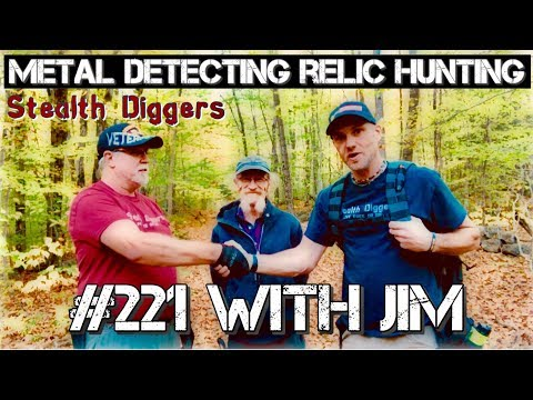 With Jim Metal detecting NH Cellar holes our friend visits