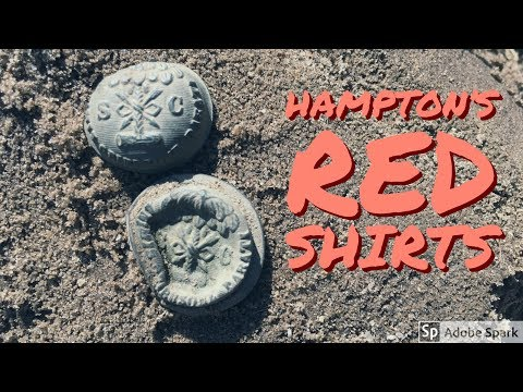 Digging UP Hampton's Red Shirts – Teknetics Metal Detector