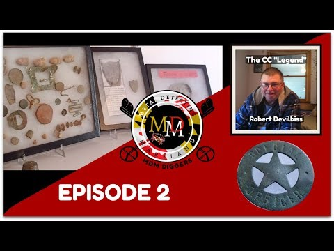 EPISODE 2: The First MDM Digger Spotlight! Plus The Devilbiss Hunts
