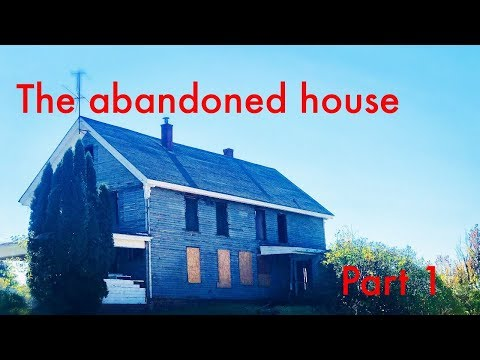 Exploring and metal detecting an abandoned 1800s house, Part 1