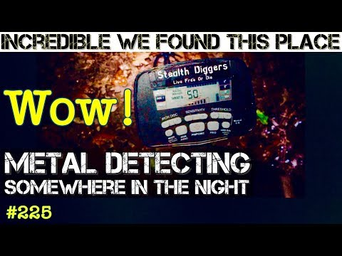 Somewhere in the night Metal Detecting incredible discovery