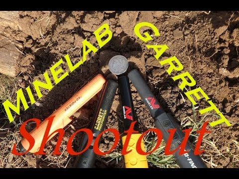 Minelab Pro-Find 35 pinpointer shoot-out