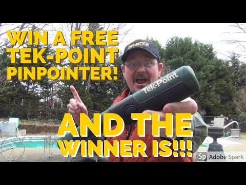 Metal Detecting – The Winner of the Teknetics Tek-Point Pinpointer Is….