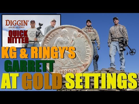 QH3: Garrett AT GOLD setup – KG and Ringy's settings – DWKGR Quick Hitter