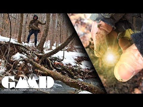 Exploring the Frozen Mountains for Treasures of a Bygone Era | Metal Detecting Adventure