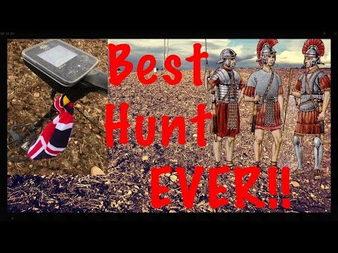 Metal detecting – I don't think we can ever beat this hunt! MX7, MX Sport