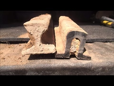 "Excavating A Civil War Era Railroad ""T"" Rail!"