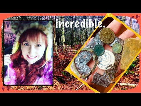 Metal detecting finds from beach to forest!  Coins & relics, silver!